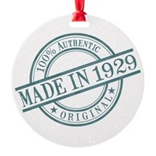 Made in 1929 Ornament