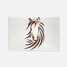 Brown Horse Head Magnets