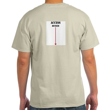 Access Denied Ash Grey T-Shirt