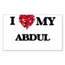 I love my Abdul Decal