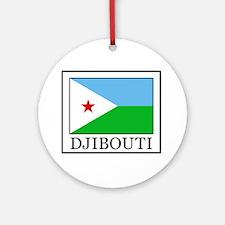 Djibouti Ornament (Round)