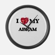 I love my Abram Large Wall Clock