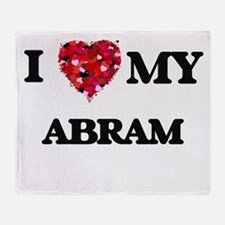 I love my Abram Throw Blanket