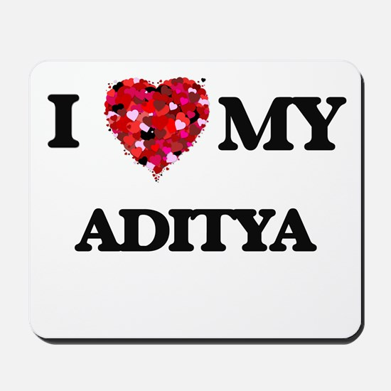 I love my Aditya Mousepad