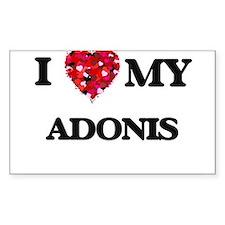I love my Adonis Decal