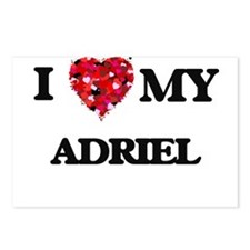 I love my Adriel Postcards (Package of 8)