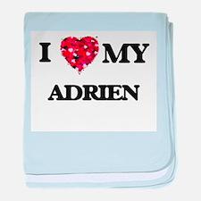 I love my Adrien baby blanket