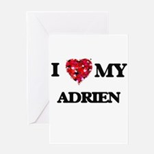 I love my Adrien Greeting Cards