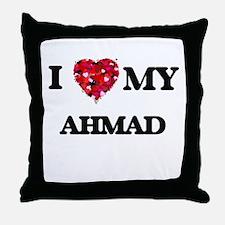 I love my Ahmad Throw Pillow