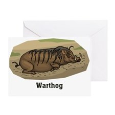 Warthog 2 Greeting Card