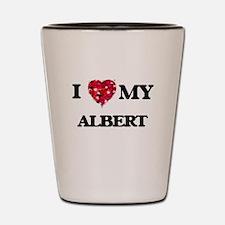 I love my Albert Shot Glass