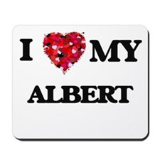 I love my Albert Mousepad