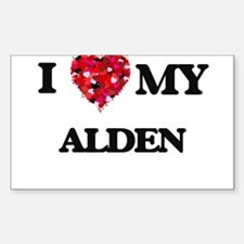I love my Alden Decal