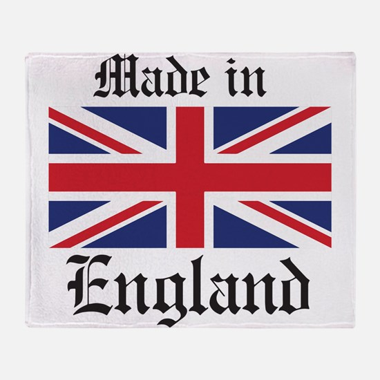 Made in England Throw Blanket