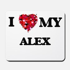I love my Alex Mousepad