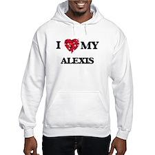 I love my Alexis Hoodie Sweatshirt