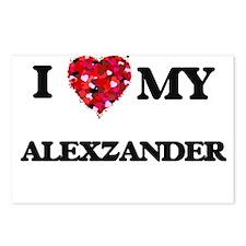 I love my Alexzander Postcards (Package of 8)