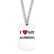 I love my Alfredo Dog Tags