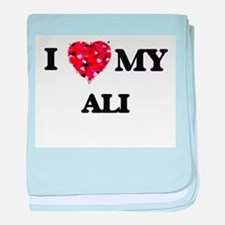 I love my Ali baby blanket