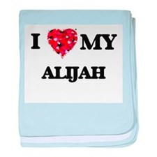I love my Alijah baby blanket