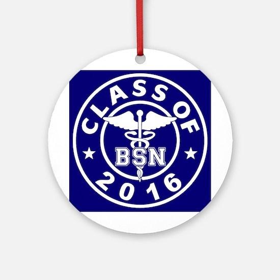 Class of 2016 BSN Ornament (Round)