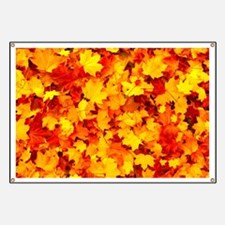 Maple Leaves Banner