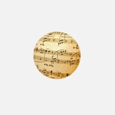 Music Sheet Mini Button