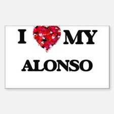 I love my Alonso Decal