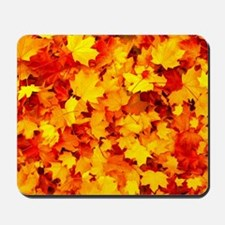 Maple Leaves Mousepad