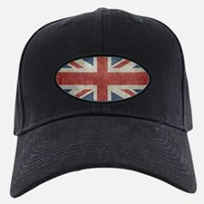 Union Jack flag - vintage retro style Baseball Hat