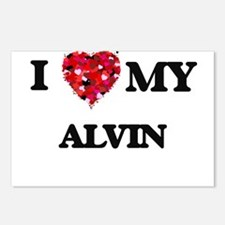 I love my Alvin Postcards (Package of 8)