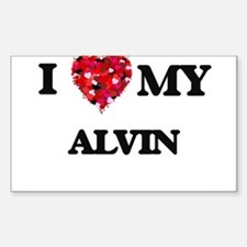 I love my Alvin Decal