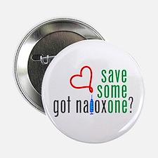 "Save Someone Naloxone (c)2014 2.25"" Button"