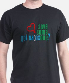 Save Someone Naloxone (c)2014 Recovery T-Shirt
