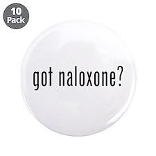 "Got Naloxone? 3.5"" Button (10 Pack)"