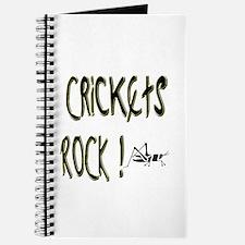 Crickets Rock ! Journal