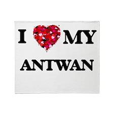 I love my Antwan Throw Blanket