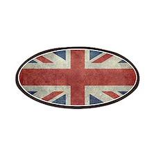 Union Jack flag - vintage retro style Patch