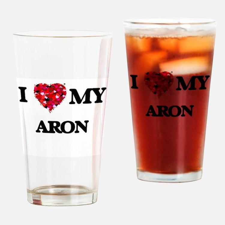 I love my Aron Drinking Glass