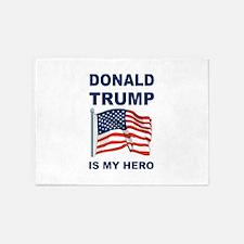 Donald Trump is my Hero 5'x7'Area Rug
