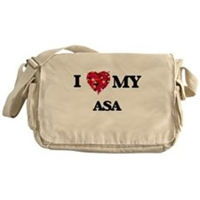 I love my Asa Messenger Bag