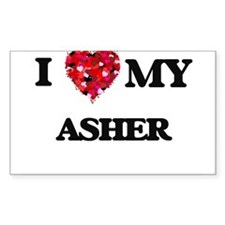 I love my Asher Decal