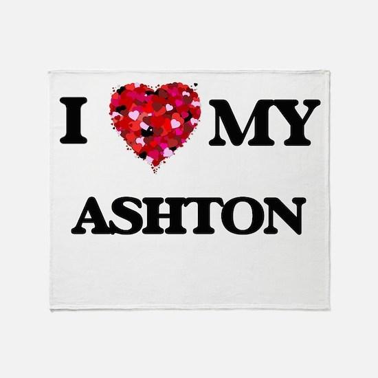 I love my Ashton Throw Blanket