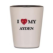 I love my Ayden Shot Glass