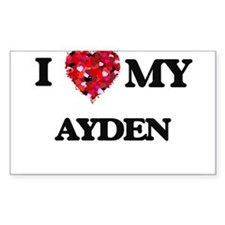 I love my Ayden Decal