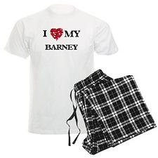 I love my Barney Pajamas