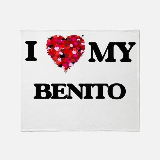 I love my Benito Throw Blanket