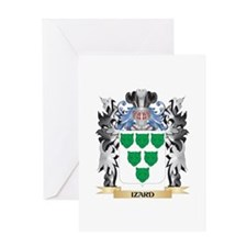 Izard Coat of Arms - Family Crest Greeting Cards