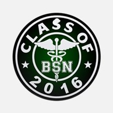 Class of 2016 BSN Ornament (Round)