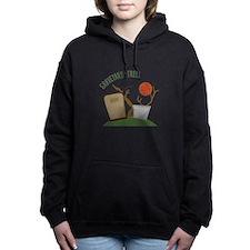 Graveyard Stroll Women's Hooded Sweatshirt